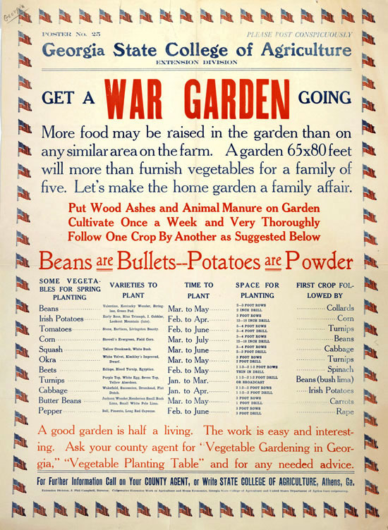 Get a War Garden Going
