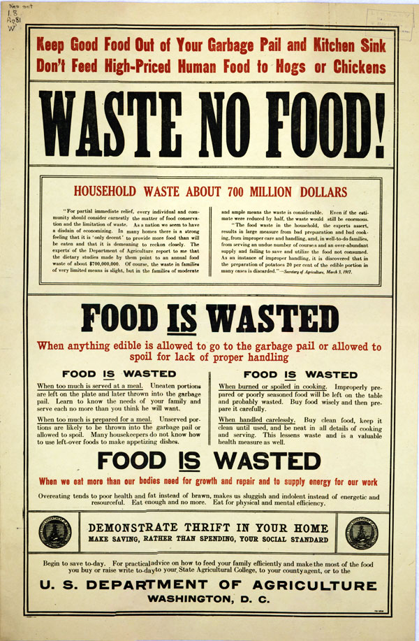 """Waste No Food"""
